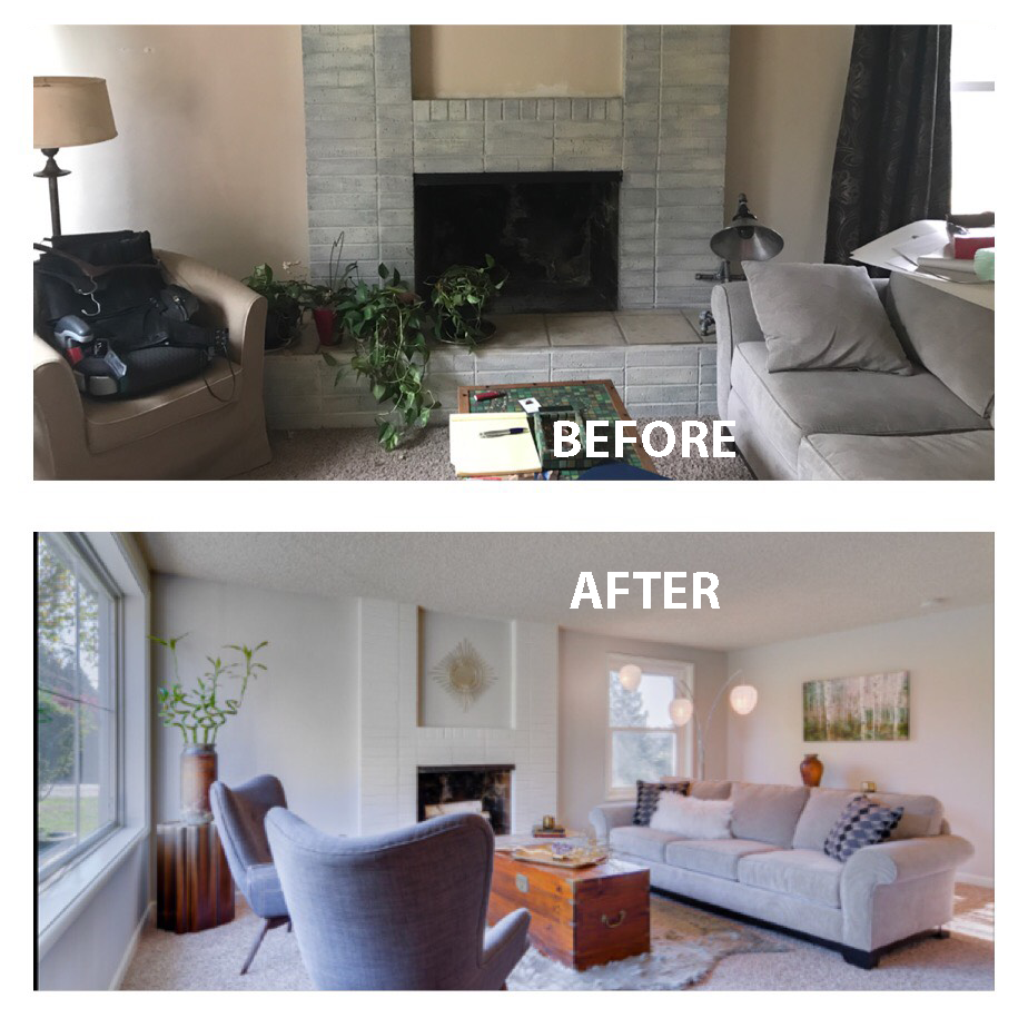 I Stage My Clients Homes And That Is A Bonus To Hire Me As Your Real Estate  Broker. Attached Are Some Before And After Pictures And A Staged Home That  Went ...