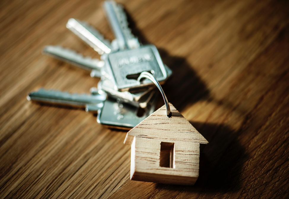 First time home buyer's keys